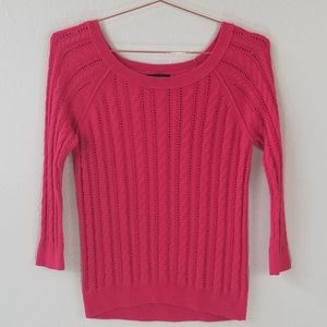 American Eagle Outfitters Open Knit Sweater Size S